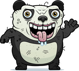 Ugly Panda Waving