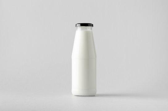 Milk Bottle Mock-Up