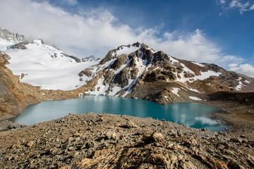 Argentina, Patagonia, El Chalten,Los Glaciares National Park, Laguna Sucia