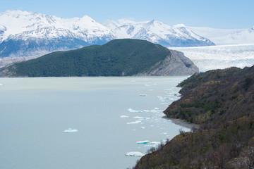 Cile, Patagonia, Torres del Paine National Park, Glacier Grey