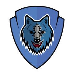 wolf logo team