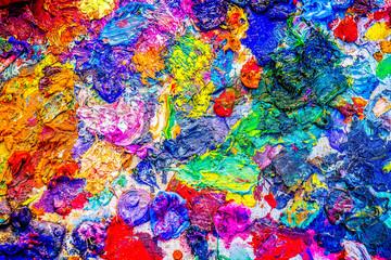 Colors of palette