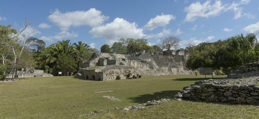 Kohunlich, Mexiko, Maya Ruinen 2