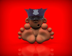 Baby Policeman