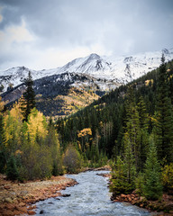 Autumn in the Rocky Mountains of Colorado