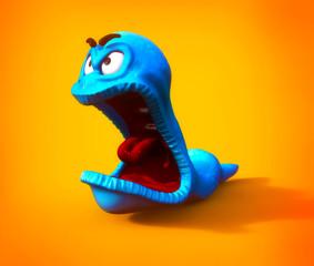 Yelling Worm