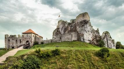 Castle in Rabsztyn, Poland