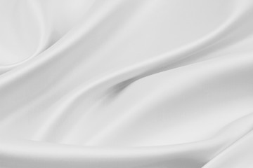 White silk fabric texture