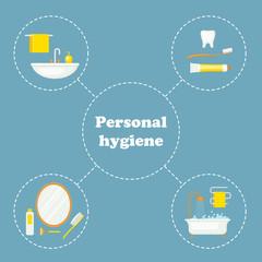 Personal hygiene concept design