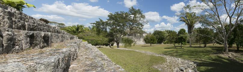 Kohunlich, Mexiko, Maya Ruinen 14