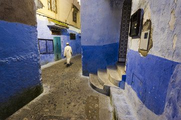 Chefchaouen, Morocco. The blue medina.