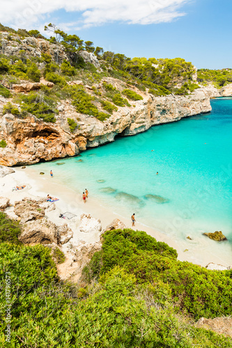 Calo Des Moro Mallorca Spain One Of The Most Beautiful Beaches In