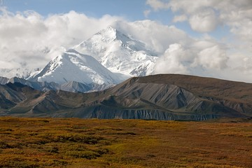 The Mc Kinley North Face from the Denali National Park road