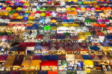 Asia, Thailand, Bangkok, Night Market,
