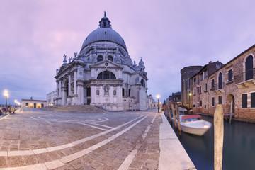 Europe, Italy, Veneto, Venice. Santa Maria della Salute Church
