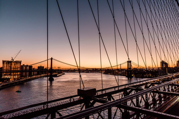 Brooklyn Bridge early morning