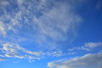 青空と豪快な雲景色