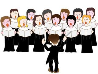 女性合唱団のコンサート