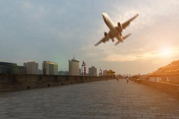 China Xi'an City and Transportation