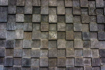 natural stone with four square pattern and grey colour