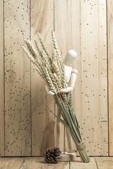 dry flower invase