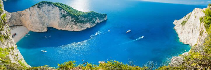Shipwreck bay - Navagio beach - Zakynthos Greece