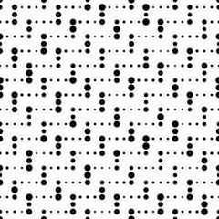 Seamless Stripe Pattern. Vector Monochrome Texture