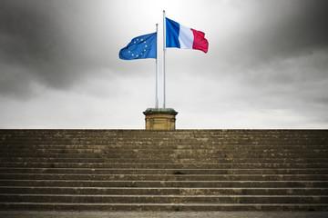 drapeau europe france français politique union européenne préférence frontière élection vote référendum euro zone symbole république