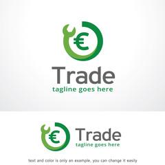 Trade Logo Template Design Vector, Emblem, Design Concept, Creative Symbol, Icon