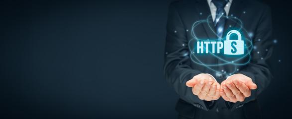 HTTPS concept