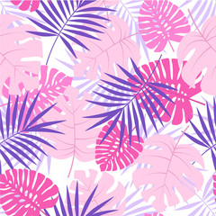 Exotic seamless pattern
