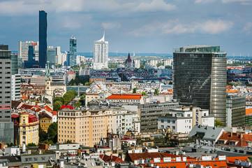 Arial panoramas of Vienna