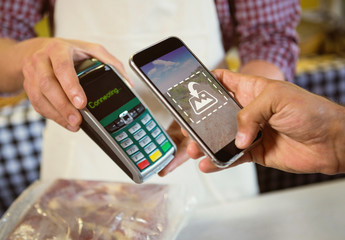 Pay by Phone at Bakery Mockup
