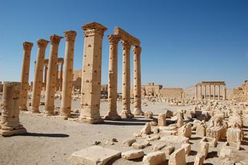 Temple de Bel à Palmyre, Syrie, 2008