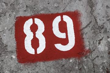 Nummer 89