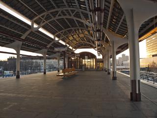 Станция Телецентр, московской монорельсовой дороги