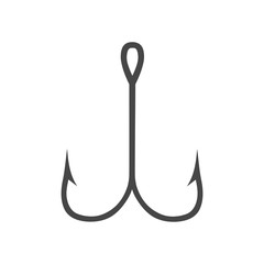 Vector icons fishhook - Illustration