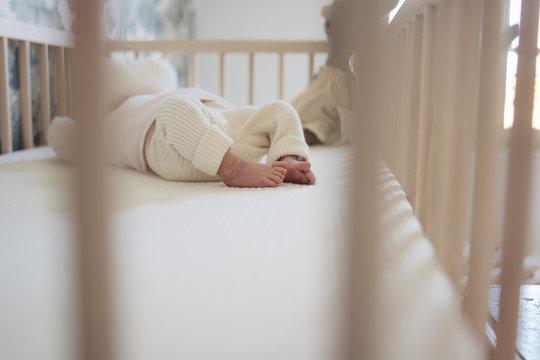 pieds de bébés nouveau né