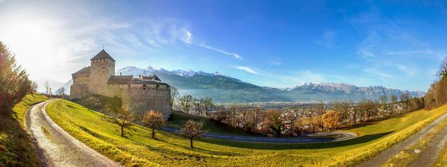 Liechtenstein, Vaduz  Wall mural