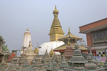 Shrine Complex in Nepal