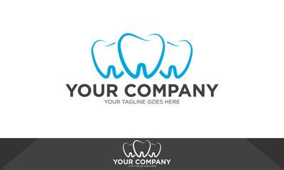 Dental Logo, dental medicine vector, dental logo template