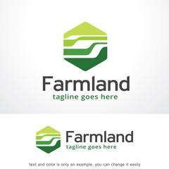 Abstract Framland Logo Template Design Vector, Emblem, Design Concept, Creative Symbol, Icon