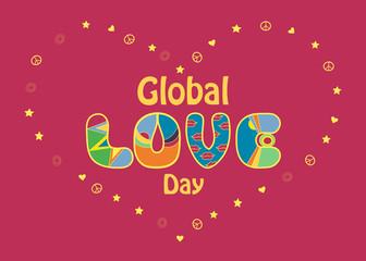 Global Love Day Card