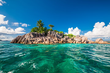 St. Pierre Island at Seychelles