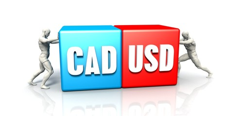 CAD USD Currency Pair