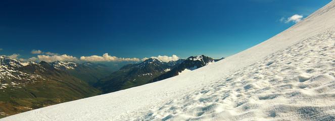 Glacier Slope in Ötztal Alps, Austria