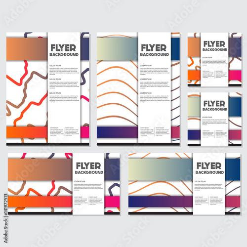 fresh background flyer style background design template fotolia com