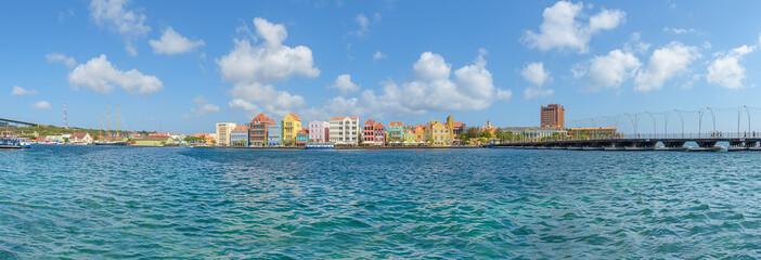 Curacao Panoramaansicht auf die Stadt Wall mural