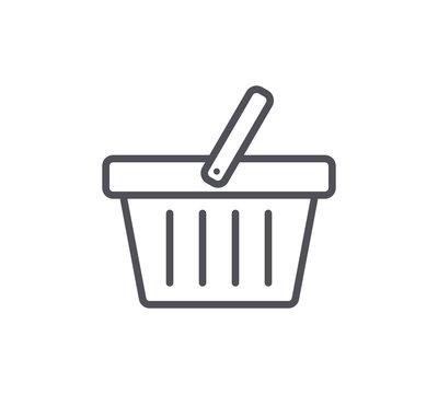 Basket Line Icon