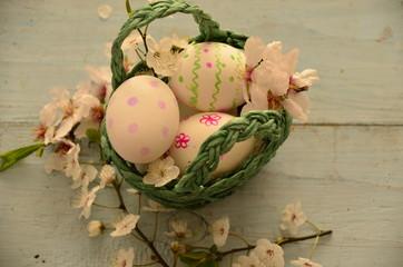 Sepette Paskalya yumurtaları